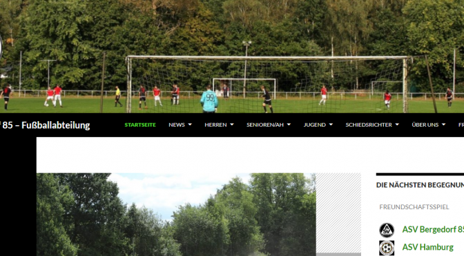 Homepage überarbeitet
