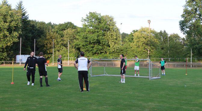 Trainingsauftakt bei der Liga